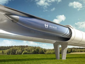 Hardt Hyperloop:  sustainable transport at high speed